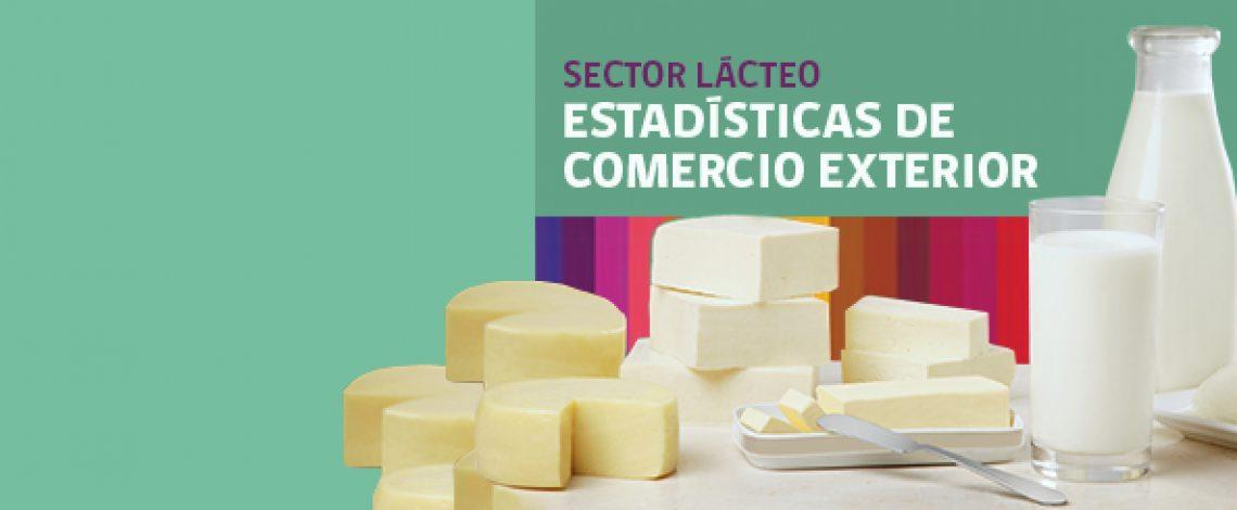 Boletín sector lácteo: estadísticas de comercio exterior. Enero de 2017