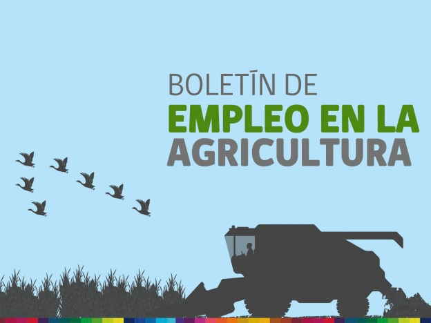 Boletín de empleo en la agricultura