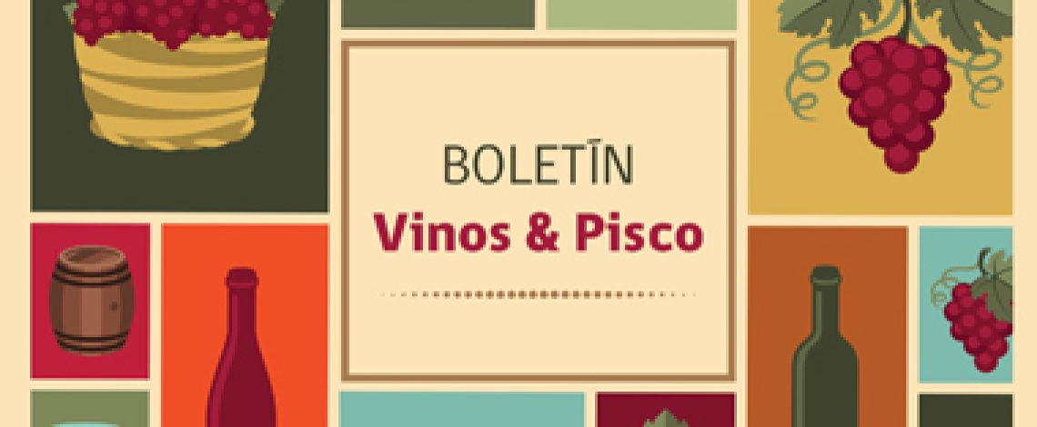 Boletín de vinos y pisco. Abril de 2016