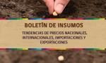 Boletín de Insumos,