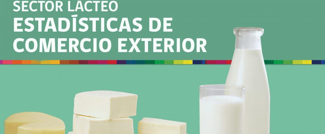 Boletín sector lácteo: estadísticas de comercio exterior. Enero 2016