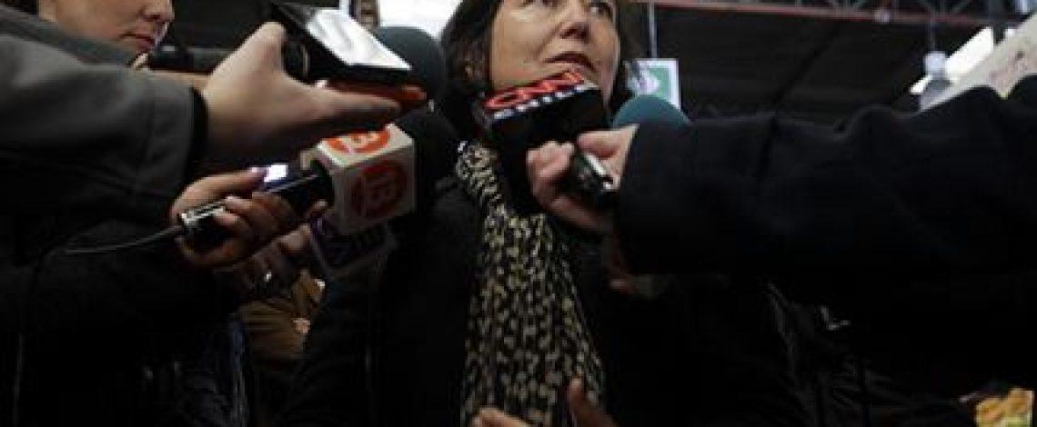 """Ministro de Agricultura, Carlos Furche, y directora de Odepa, Claudia Carbonell, dieron a conocer el estudio: """"Evolución del consumo aparente de los principales alimentos en Chile: 2003-2013"""""""