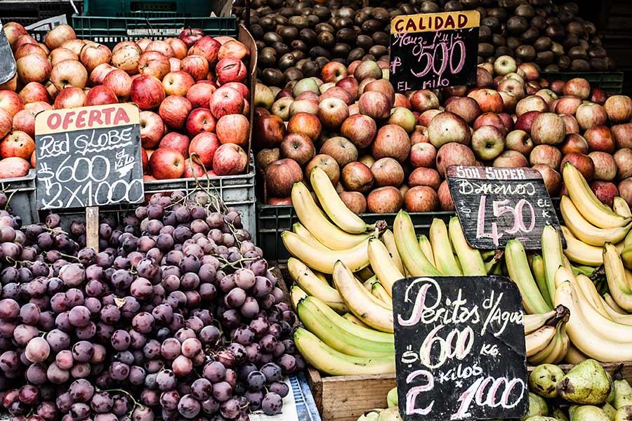 precios frutas feria