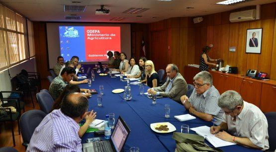 Claudia Carbonell, directora de Odepa, lideró la tercera reunión de la mesa público privada en recursos genéticos