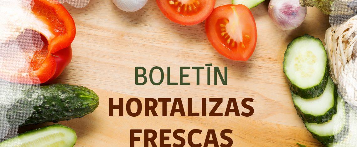 Boletín de hortalizas frescas. Noviembre de 2018