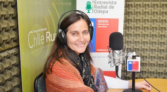 En la entrevista radial de Odepa, Liliana Yáñez habla sobre la perspectiva de género en Odepa