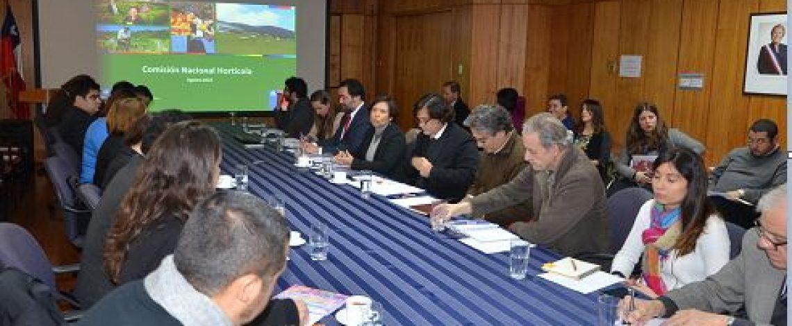 Se reunió la Comisión Nacional Hortícola
