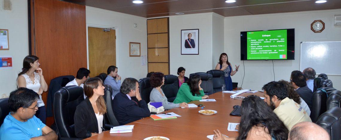 Odepa presentó Protocolo de Agricultura Sustentable a actores públicos y privados del sector.