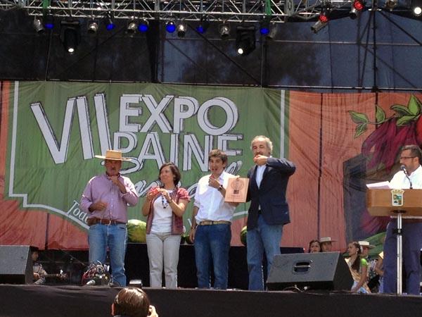 Directora de odepa participa en ceremonia de entrega for Viveros en paine