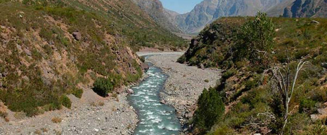 Sistema de interacción de los usuarios del agua en la cuenca del río Cachapoal