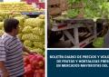 Boletín diario de precios y volúmenes de frutas y hortalizas en mercados mayoristas