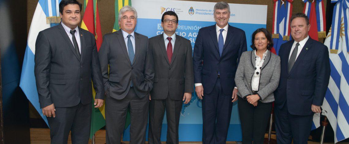 Se desarrolló la XXXIII Reunión Ordinaria del Consejo Agropecuario del Sur (CAS)