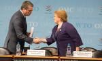 Visita de la Presidenta Michelle Bachelet a la OMC - 2017