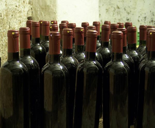 botellas de vino chileno