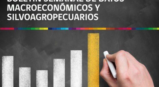 Boletín semanal de datos macroeconómicos y silvoagropecuarios