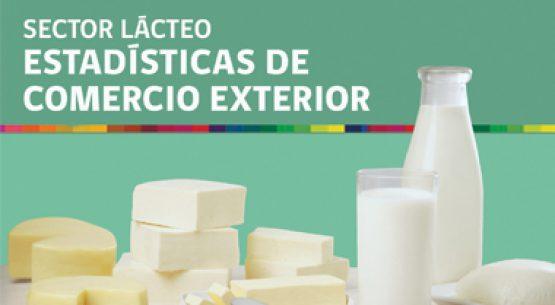 Boletín sector lácteo: estadísticas de comercio exterior. Julio de 2018