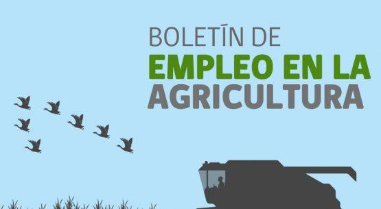 Boletín de empleo en la agricultura. Marzo/bimestre octubre-diciembre 2013 noviembre-enero 2014
