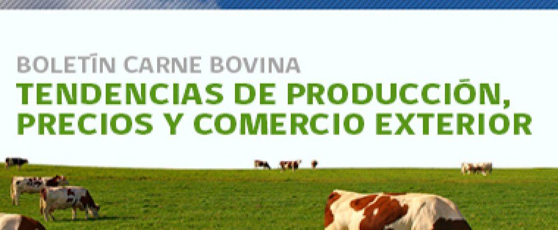 Boletín carne bovina: tendencias de producción, precios y comercio exterior. Marzo de 2014