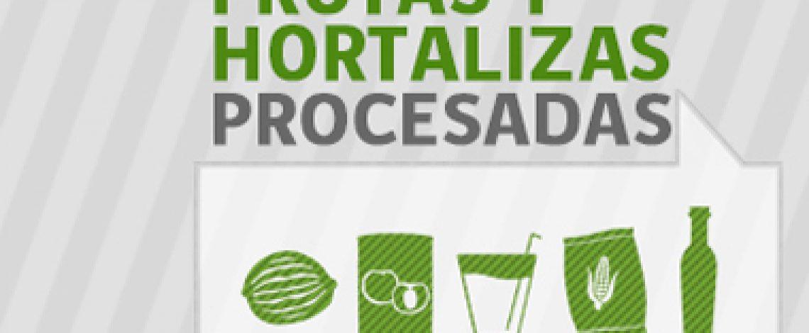 Boletín de frutas y hortalizas procesadas. Noviembre de 2017