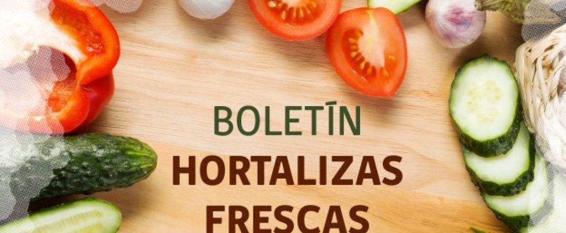 Boletín de hortalizas frescas. Abril de 2018