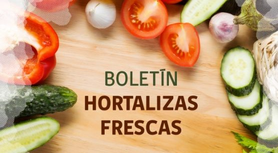 Boletín de hortalizas frescas. Mayo de 2018