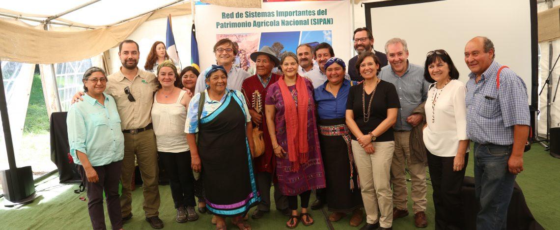 En Curarrehue se lanza proyecto Sipan que protege y valoriza el patrimonio de los territorios