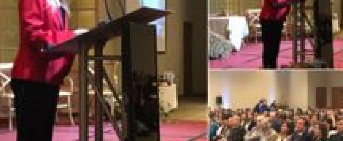 Organizado por Aproleche: Isabel Plá, ministra de la Mujer y la Equidad de Género expone en VIII Seminario de Mujeres Líderes (Aproleche)