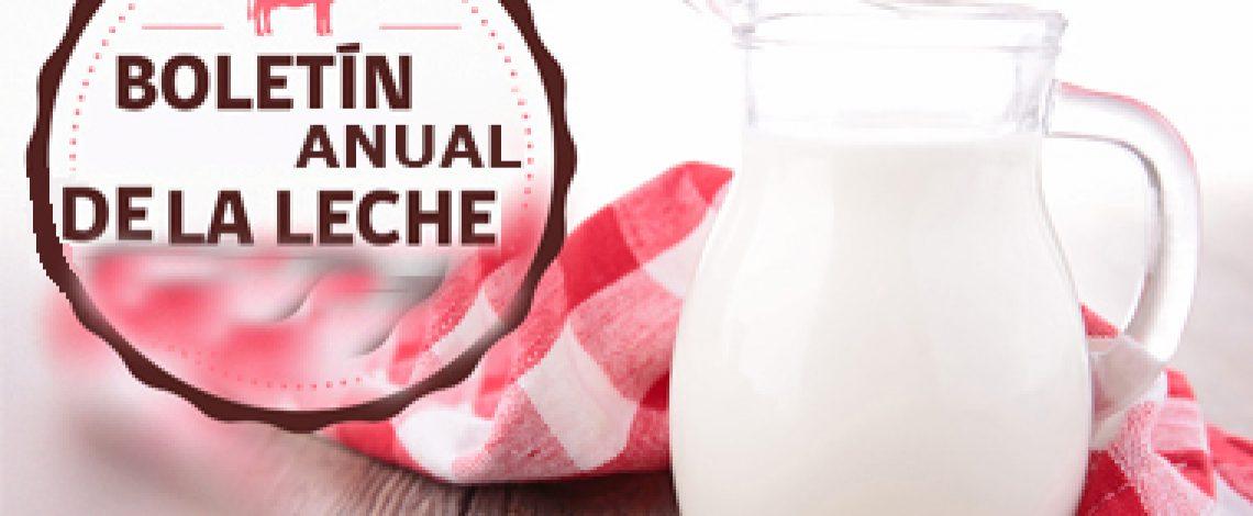 Boletín anual de la leche