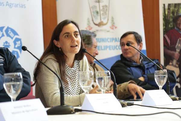 Directora Nacional de Odepa en la Comuna de Milipeuco