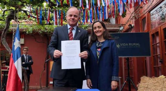 """Ministro Walker encabeza lanzamiento del Departamento de Desarrollo Rural: """"Debemos mejorar la calidad de vida de los sectores rurales de Chile"""""""