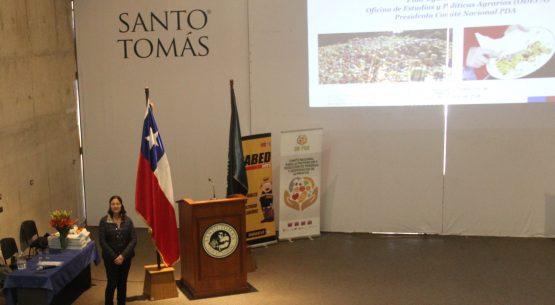 """Odepa realizó una presentación en seminario sobre: """"Pérdida y desperdicio de alimentos: definición, alcance y repercusiones"""""""