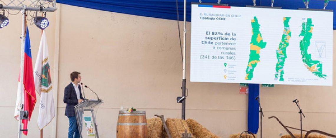 Odepa da a conocer la nueva Política Nacional de Desarrollo Rural en Chépica