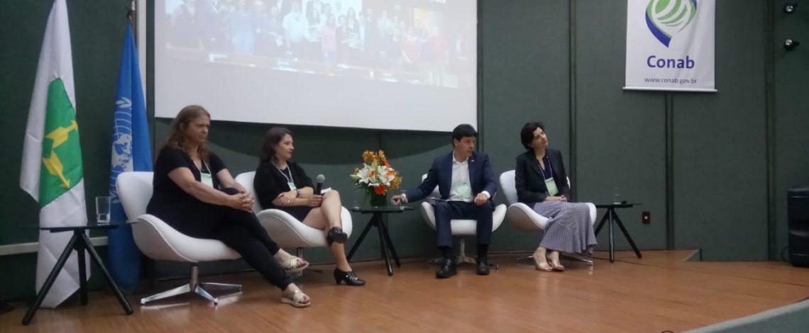 Profesional de Odepa participa en seminario sobre pérdidas de granos en el almacenamiento y transporte