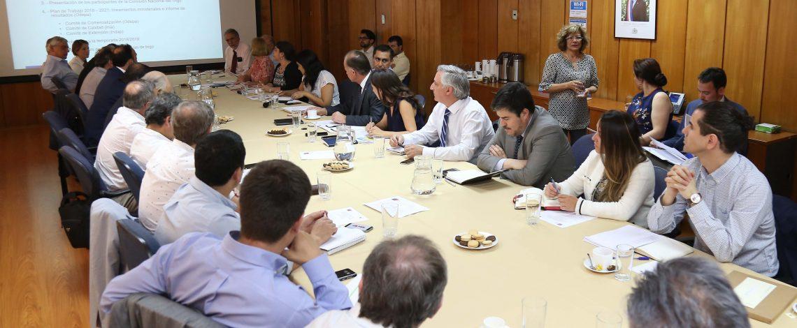 Se reunió la Comisión Nacional de Trigo, encabezada por el ministro de Agricultura y coordinada por la directora de Odepa