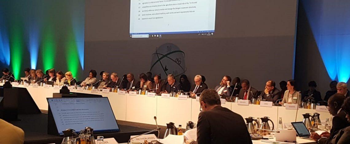 Directora de Odepa participa en el 11° Foro Mundial para la Agricultura y la Alimentación en Alemania