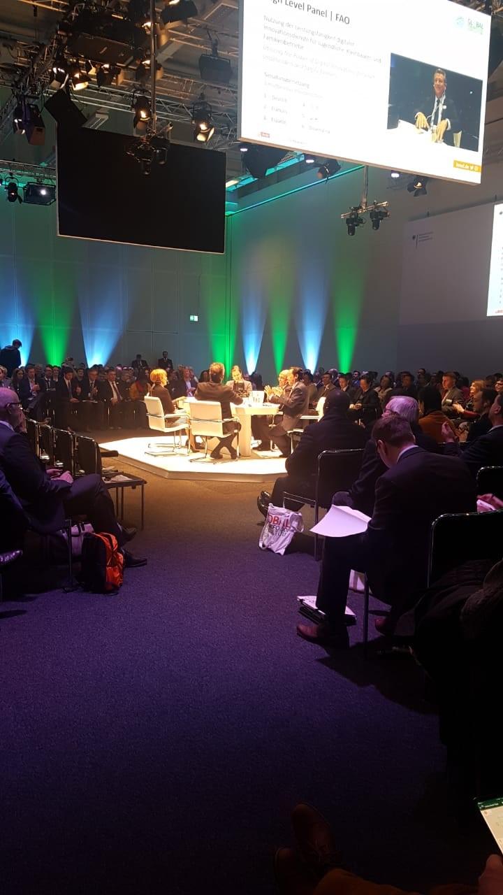 Directora de Odepa en reunión Foro Mundial para la Agricultura - Alemania