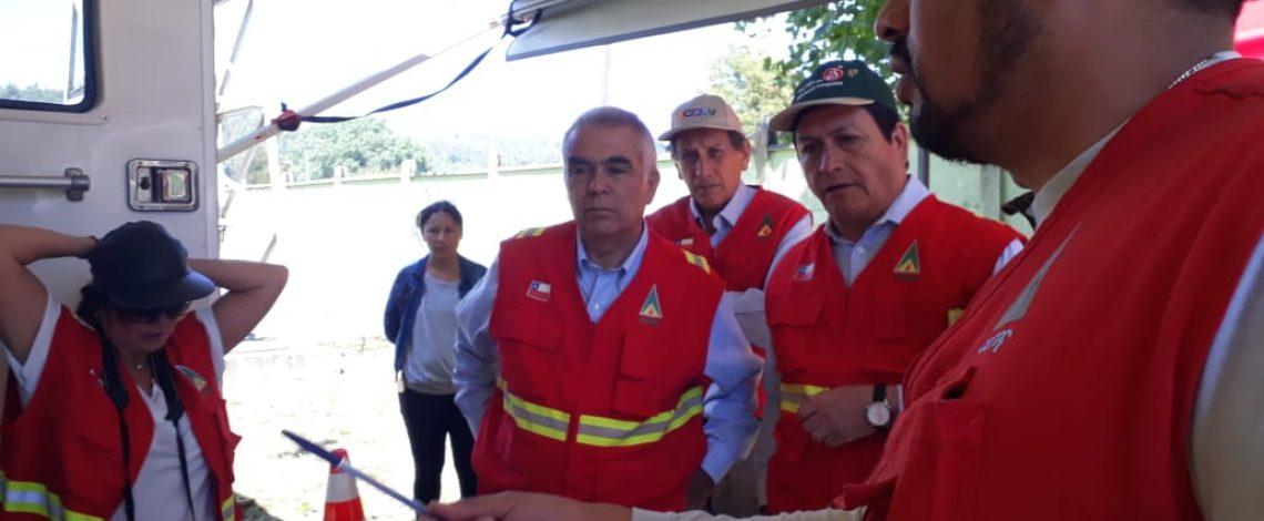 Gobierno refuerza recursos para el combate de incendios forestales en La Araucanía