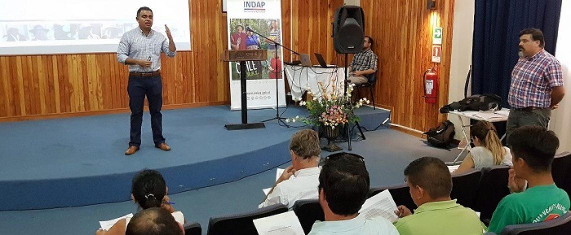 Indap capacita a servicios del agro para catastrar afectados por lluvias estivales en Tarapacá