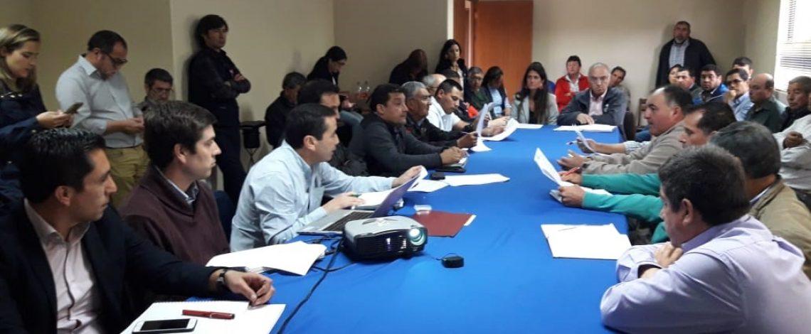 Profesional de Odepa dictó charla en la Mesa Campesina del Arroz en Parral
