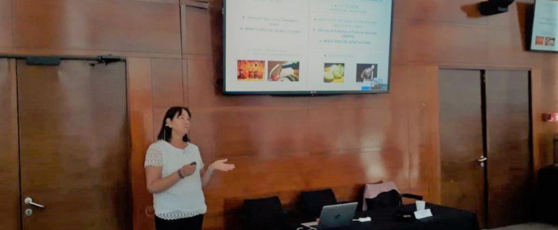 Profesional de Odepa dictó charla en jornada de capacitación del Programa sello de origen