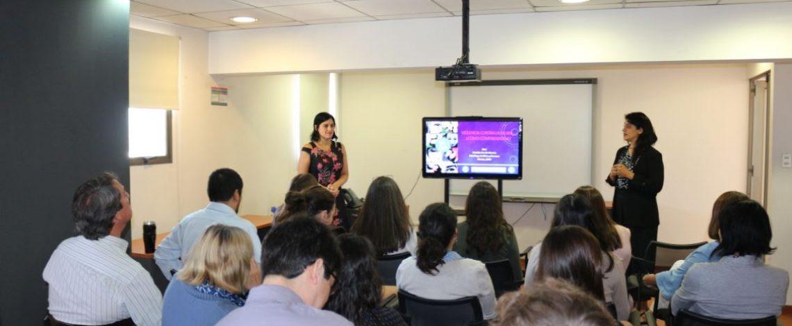 Charla en Odepa: Violencia contra la mujer. ¿Cómo comprenderla?
