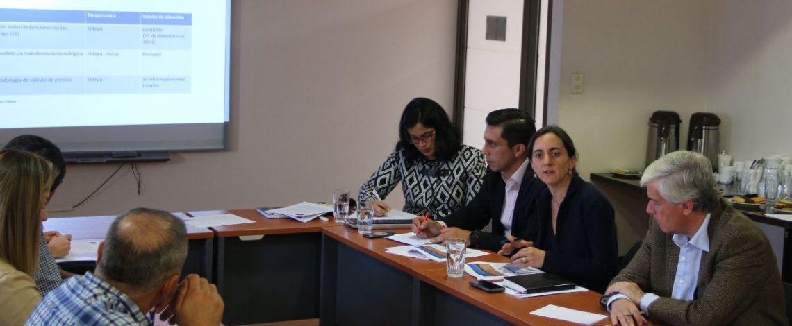 Liderada por la directora de Odepa se reunió la Comisión Nacional del Trigo