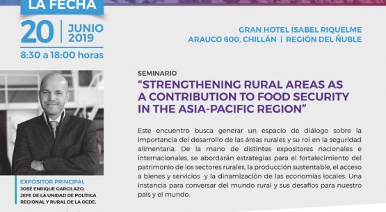 "Seminario ""Strengthening Rural Areas as a contribution to Food Security in the Asia-Pacific region"""