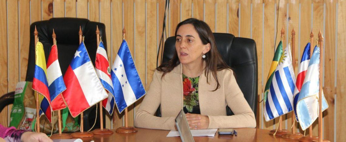 Directora de Odepa inaugura el V Diálogo Latinoamericano de Políticas Sobre Cuestiones Agropecuarias en Cambio Climático
