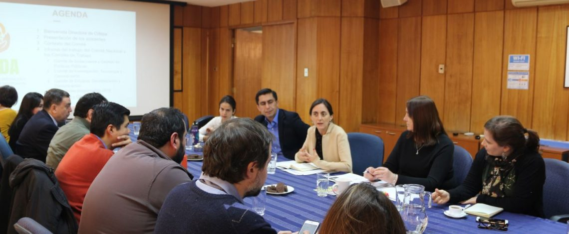 Se reunió el Comité Nacional para la Prevención y Reducción de Pérdidas y Desperdicios de Alimentos en Chile