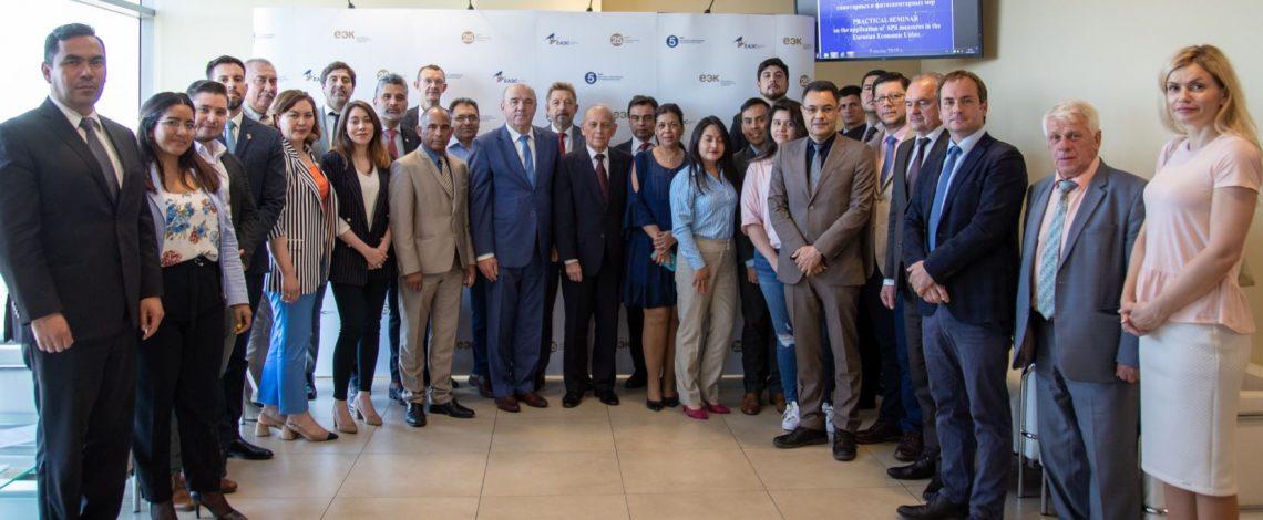 Agregaduría Agrícola de Chile en Rusia participa en seminario de la Unión Económica Euroasiática