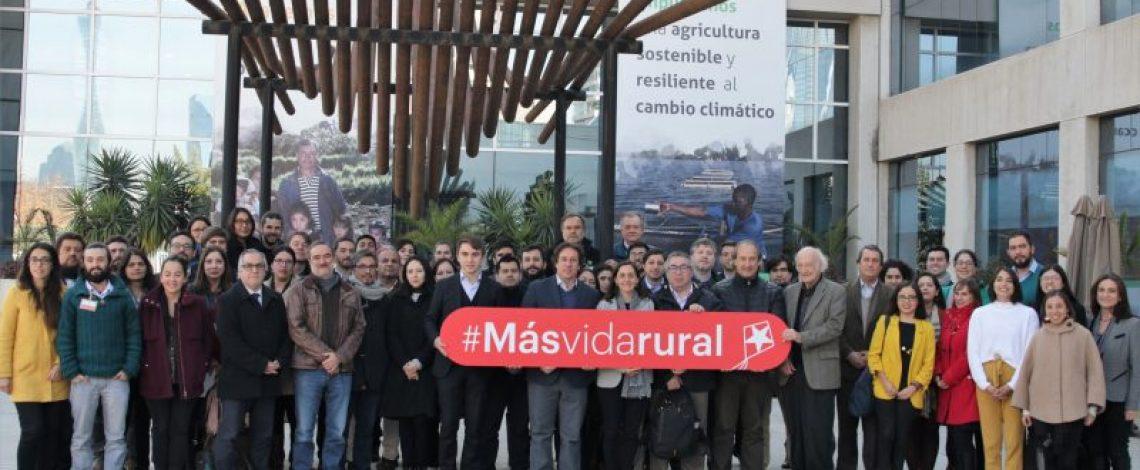 Expertos convocados por FAO y Odepa se reúnen a trabajar y debatir una tipología de territorios rurales para Chile