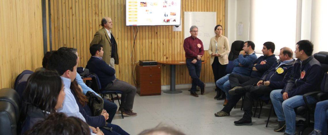 Directora María Emilia Undurraga se reunió con reporteros de mercado de Odepa