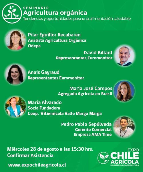 Seminario Agricultura Orgánica - Expo Chile Agrícola