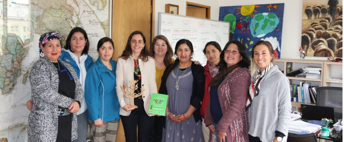 Directora de Odepa se reúne con mujeres rurales de la Región de La Araucanía